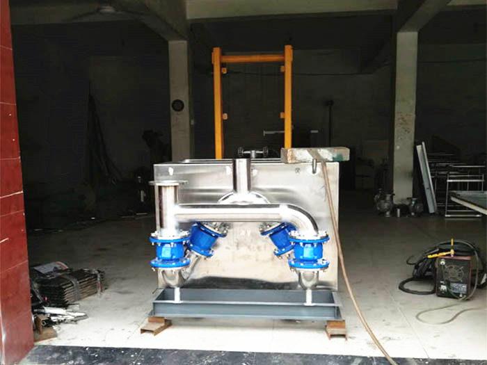 曲源电气污水提升设备安装案例
