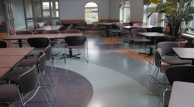 塑膠地板施工