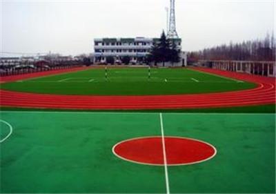 陝西水性矽PU籃球場