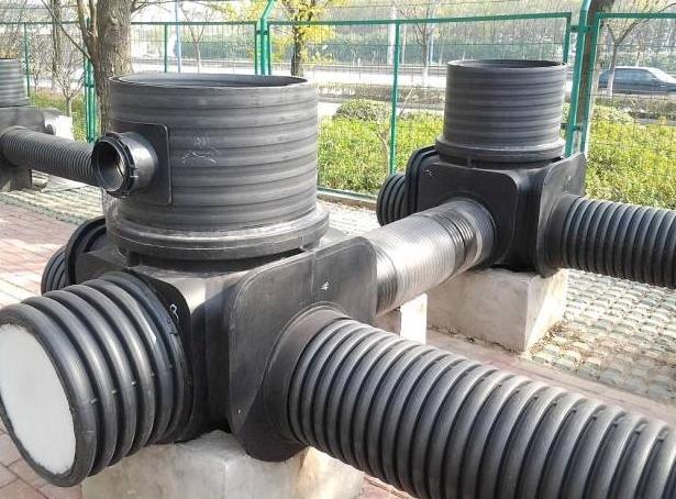 为中铁二局集团电务工程公司提供HDPE双壁波纹管批发