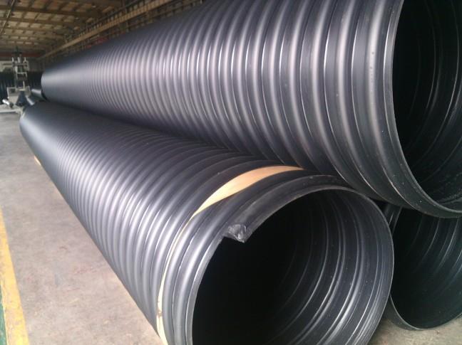 陕西钢带增强排水管