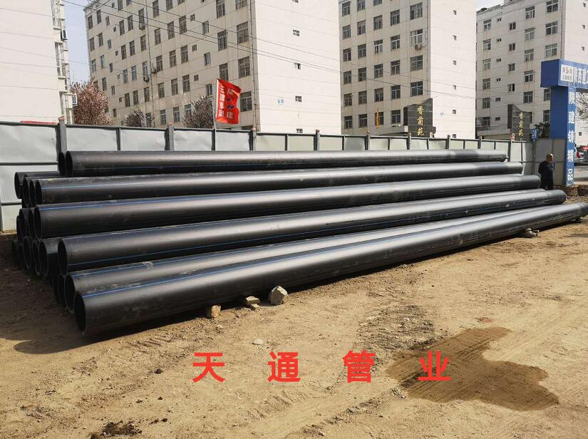 HDPE给水管生产