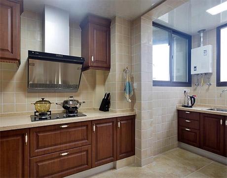为西安某家属院的小区进行二手房改造和厨房翻新