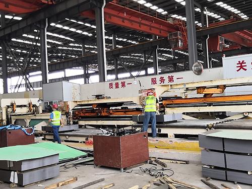 成都镀锌卷板加工公司厂房展示