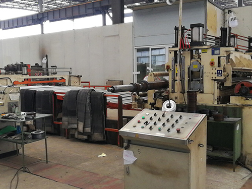 成都镀铝锌卷板公司厂房展示