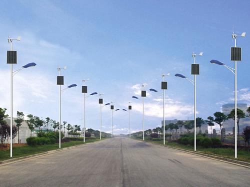 四川風光互補太陽能路燈