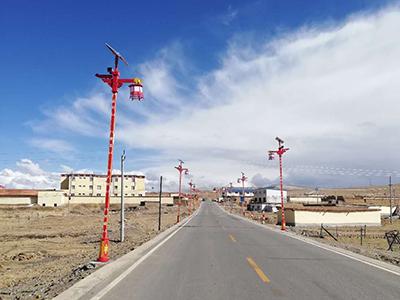藏式太陽能路燈