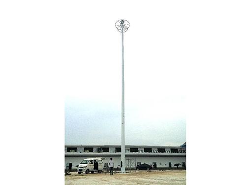 四川中高桿燈施工安裝成功案例