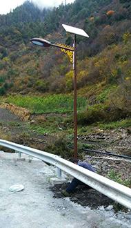 四川藏式太陽能路燈