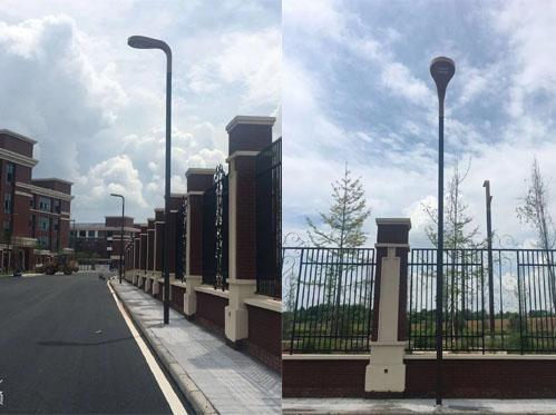 青白江歐洲産業城市政路燈安裝項目