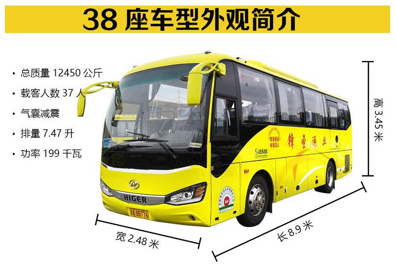 成都会议包车-38座车型展示