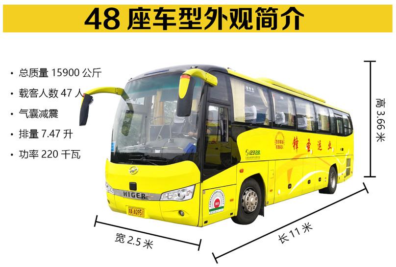 成都旅游租车-48座车型展示
