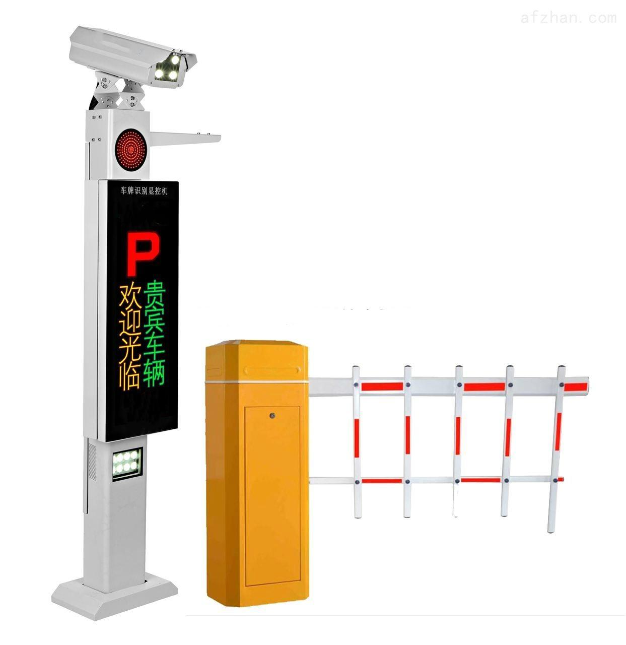 某停车场安装河南停车场管理系统