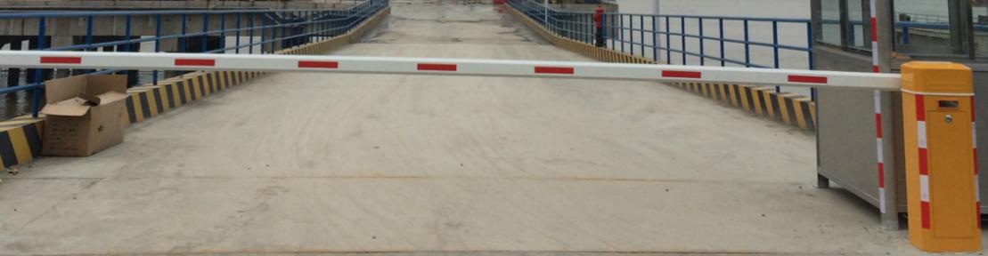 码头安装直杆道闸