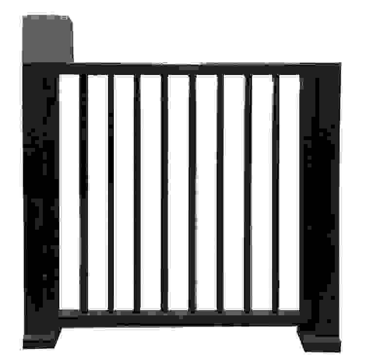栅栏平开门