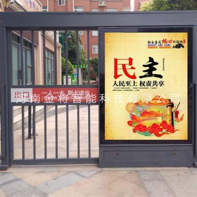 河南广告平开门