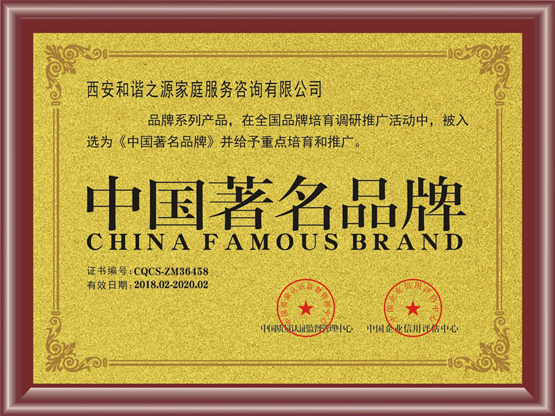 中国著名品牌荣誉称号