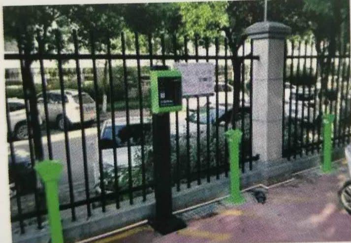鄭州航院家屬院安裝南陽電動車充電樁