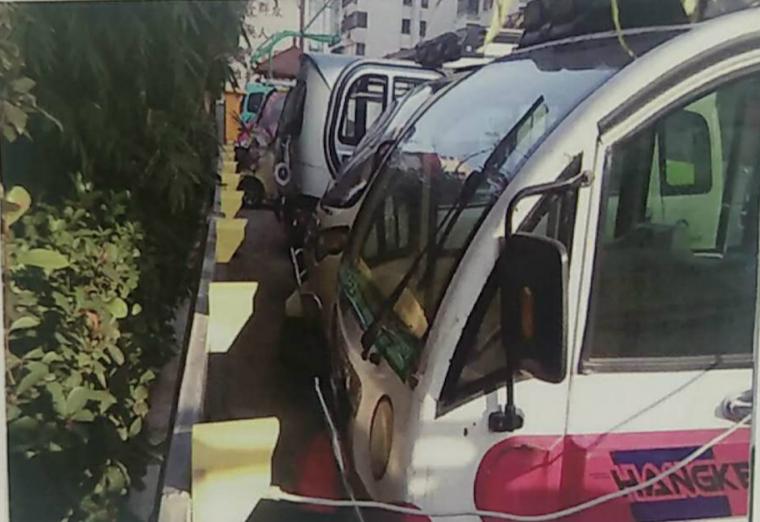 东华新村安装小区充电站案例