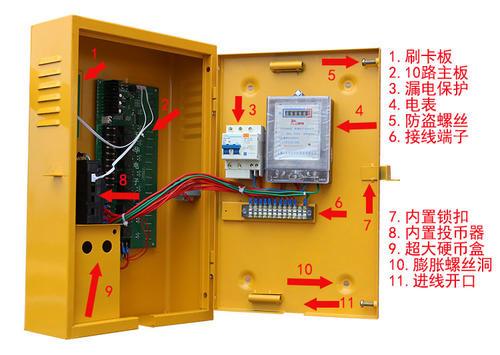 充电站内置基本结构