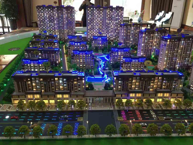 南阳建筑楼盘模型制作