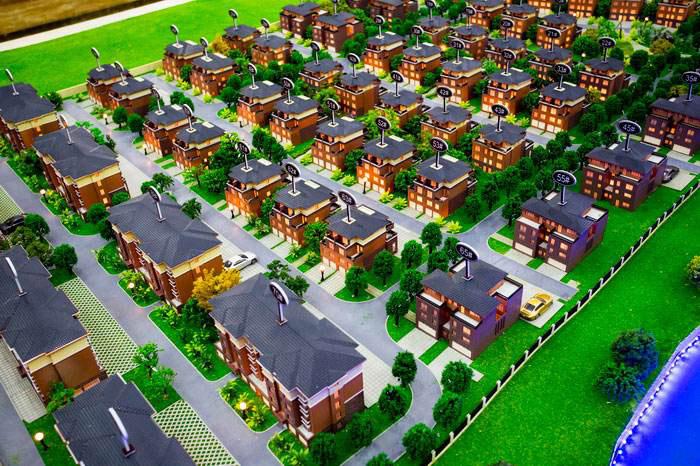 专业制作-别墅群模型公司