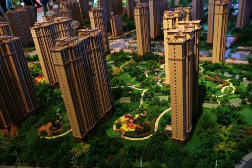南阳建筑模型图