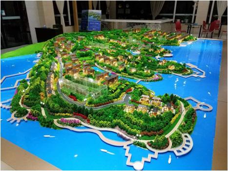 地区规划模型制作展示