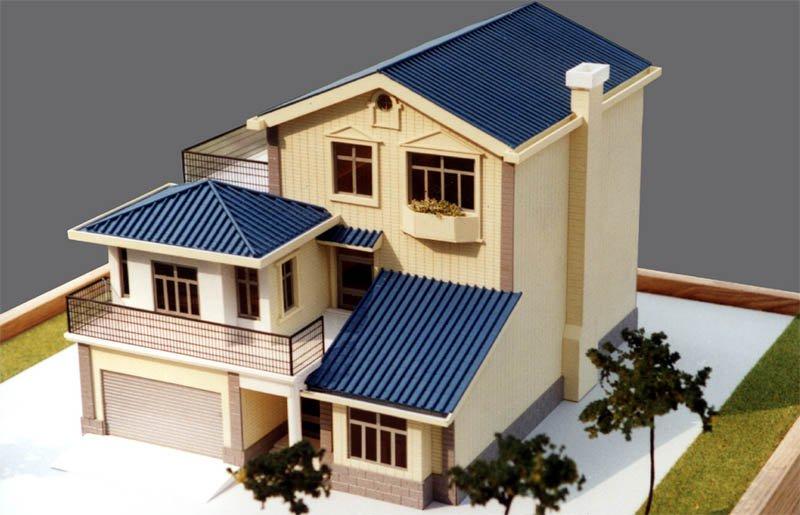 某房屋建筑商与南阳上品模型公司合作案例作品展示图