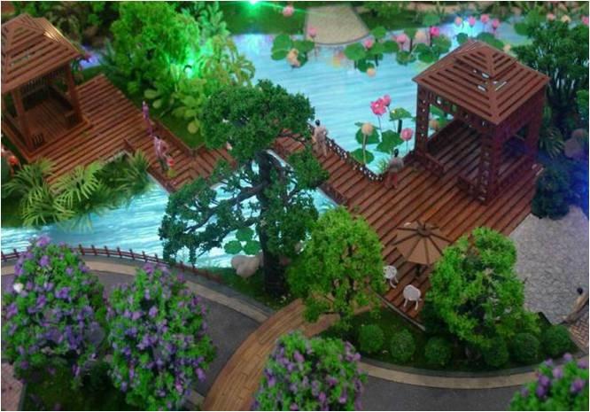 园林景观模型展示