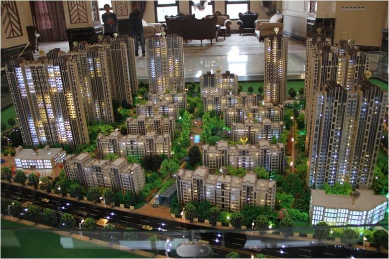 楼盘建筑模型