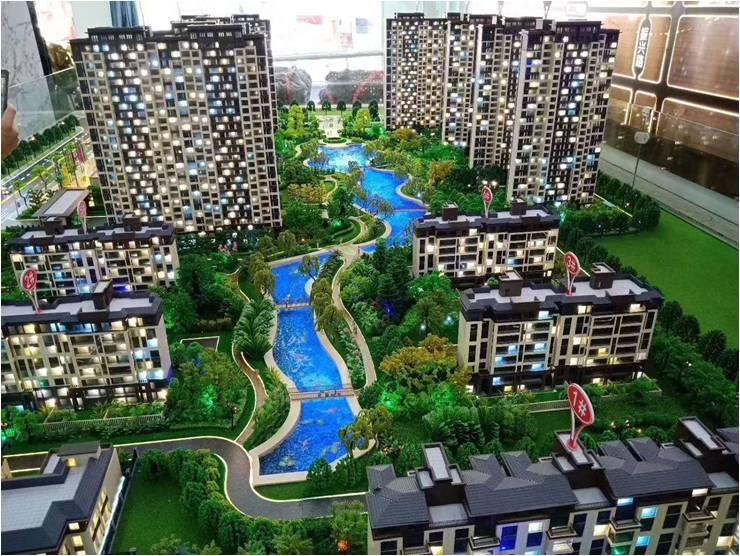 楼房建筑模型