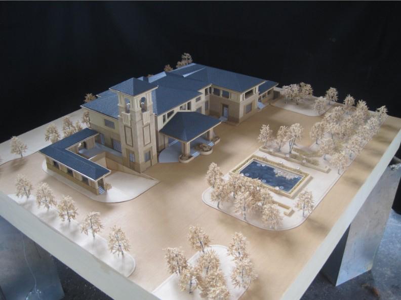 建筑模型制作