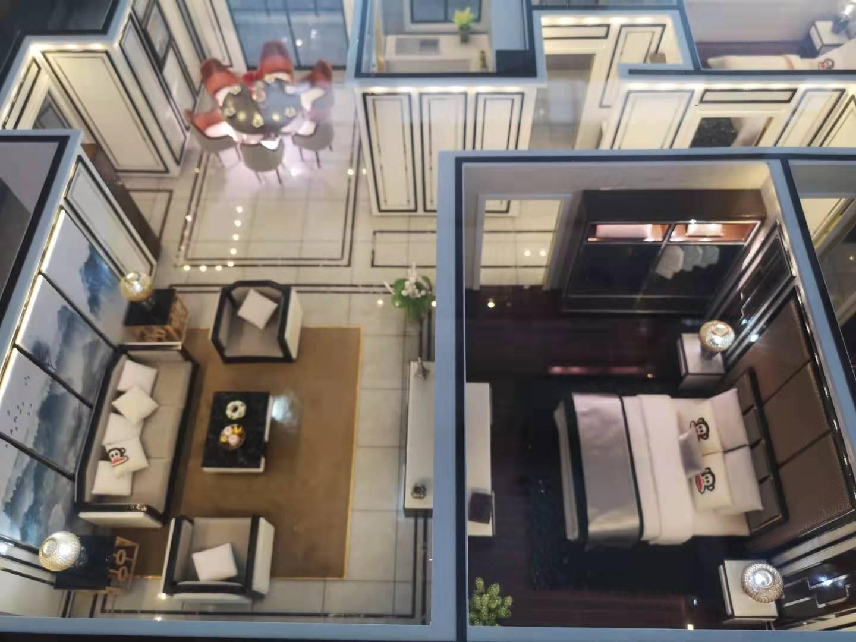 手工建筑模型制作-别墅模型