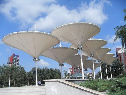 广安景观膜结构案例 · 广安景观膜结构案例