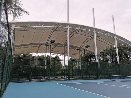 成都浣花溪公园网球场项目