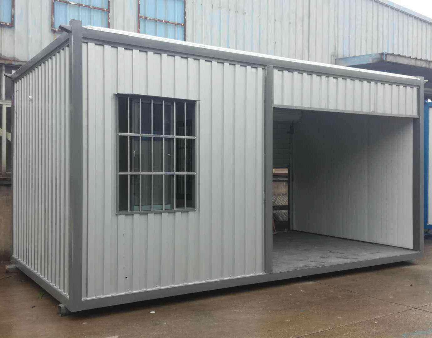 施工工地建造集成箱房效果展示