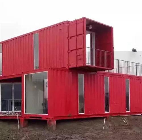 组合集装箱 满足多人居住需求搭建方便快捷集装箱房