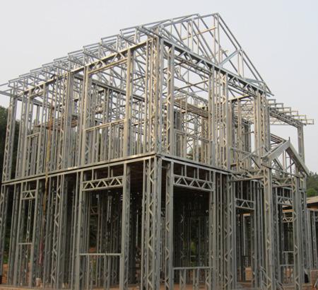 轻钢结构集成房屋 具有好的抗震性 建造速度快