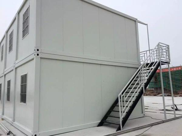拼装集装箱房 施工无灰尘 节省成本