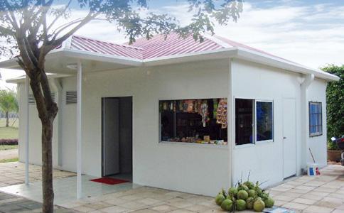 南阳活动板房 磷镁活动房 重量轻 易搭建