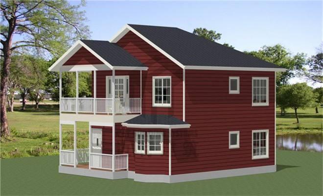 南阳轻钢别墅模型图