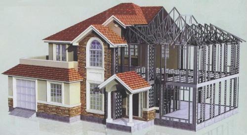 南阳轻钢别墅建造