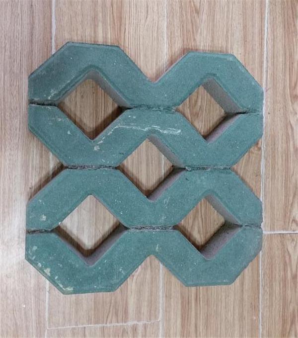 平川八字型植草砖