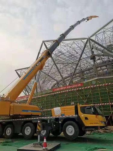 汇洋吊装为中国..重型机械集团公司吊装租赁
