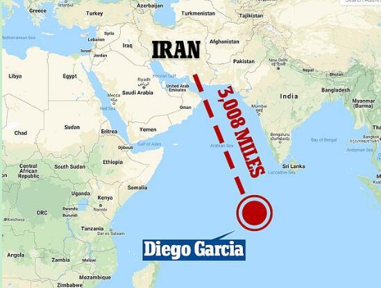 敏感时机,美国6架B-52轰炸机赴印度洋,或携大量武器