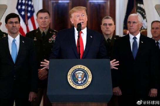 实施新制裁!特朗普:伊朗作出改变前 制裁将一直在