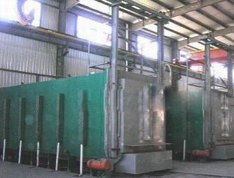 陕西全纤维模块电阻炉案例