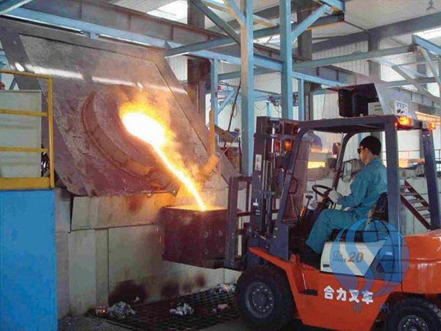 陕西工业炉生产车间
