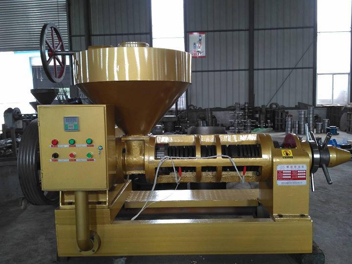 YZYX130WK自动温控榨油机